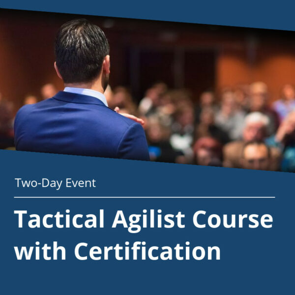 Tactical Agile Course With Certification